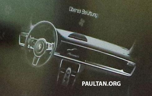 SPIED: 2018 Porsche Cayenne to get big touch screen Image #496659