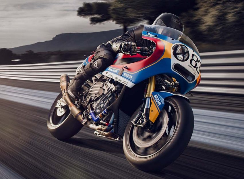 Pra 235 M Bmw S1000rr Racing Custom From The 80s Image 487349