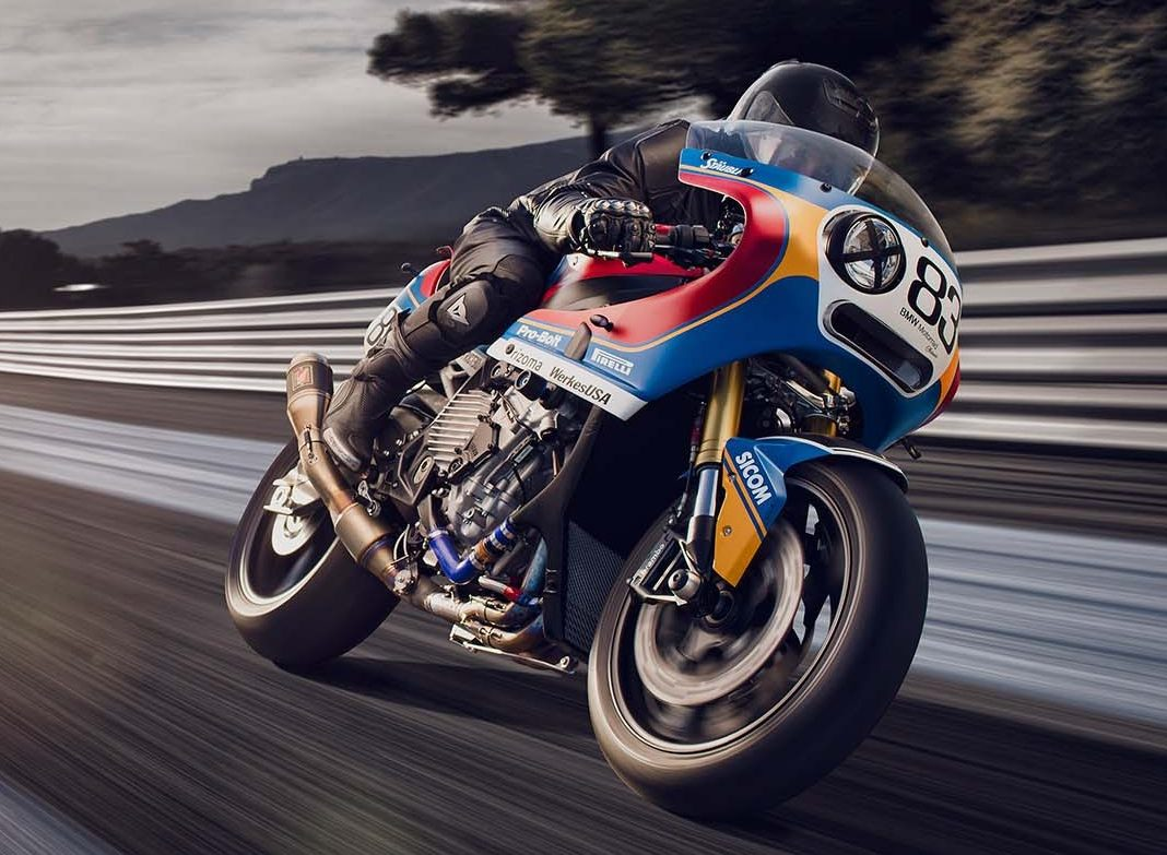 racing race bike bmw s1000rr custom 80s praem racer retro motorcycle endurance paultan ride
