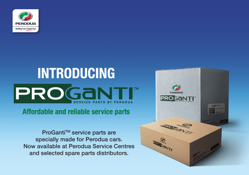 Perodua introduces ProGanti – affordable alternative service parts brand with six-month warranty Image #489162