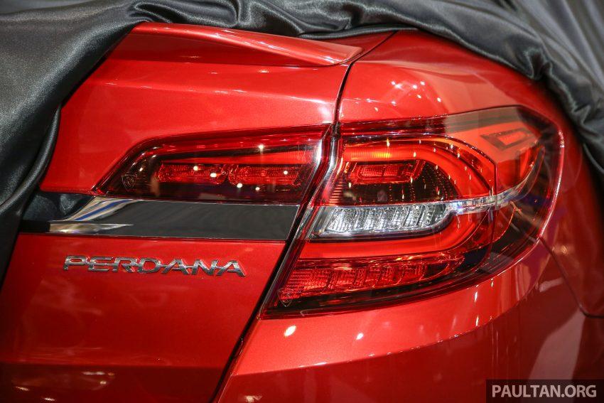 2016 Proton Perdana teased again ahead of launch Image #496209