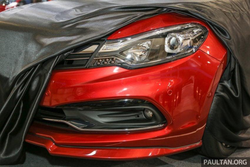 2016 Proton Perdana teased again ahead of launch Image #496191