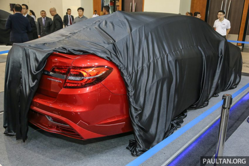 2016 Proton Perdana teased again ahead of launch Image #496202