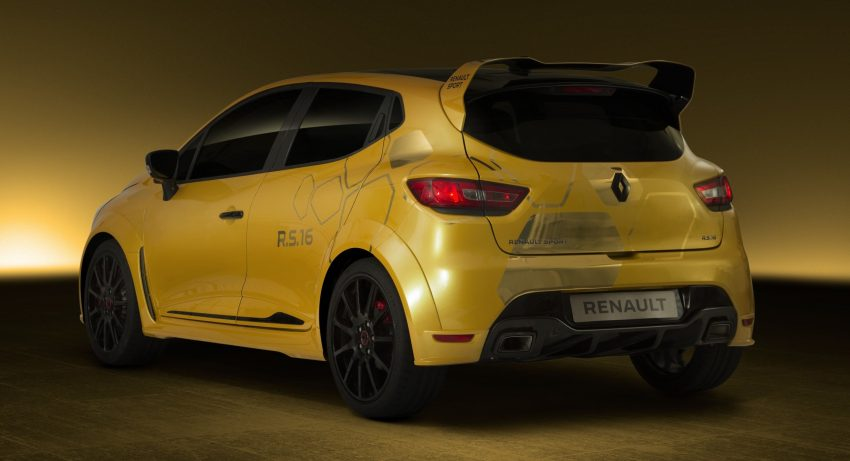 Renault Clio RS 16 – 275 hp, 360 Nm concept debuts Image #500002