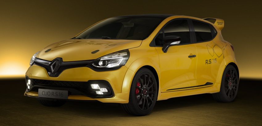 Renault Clio RS 16 – 275 hp, 360 Nm concept debuts Image #500003