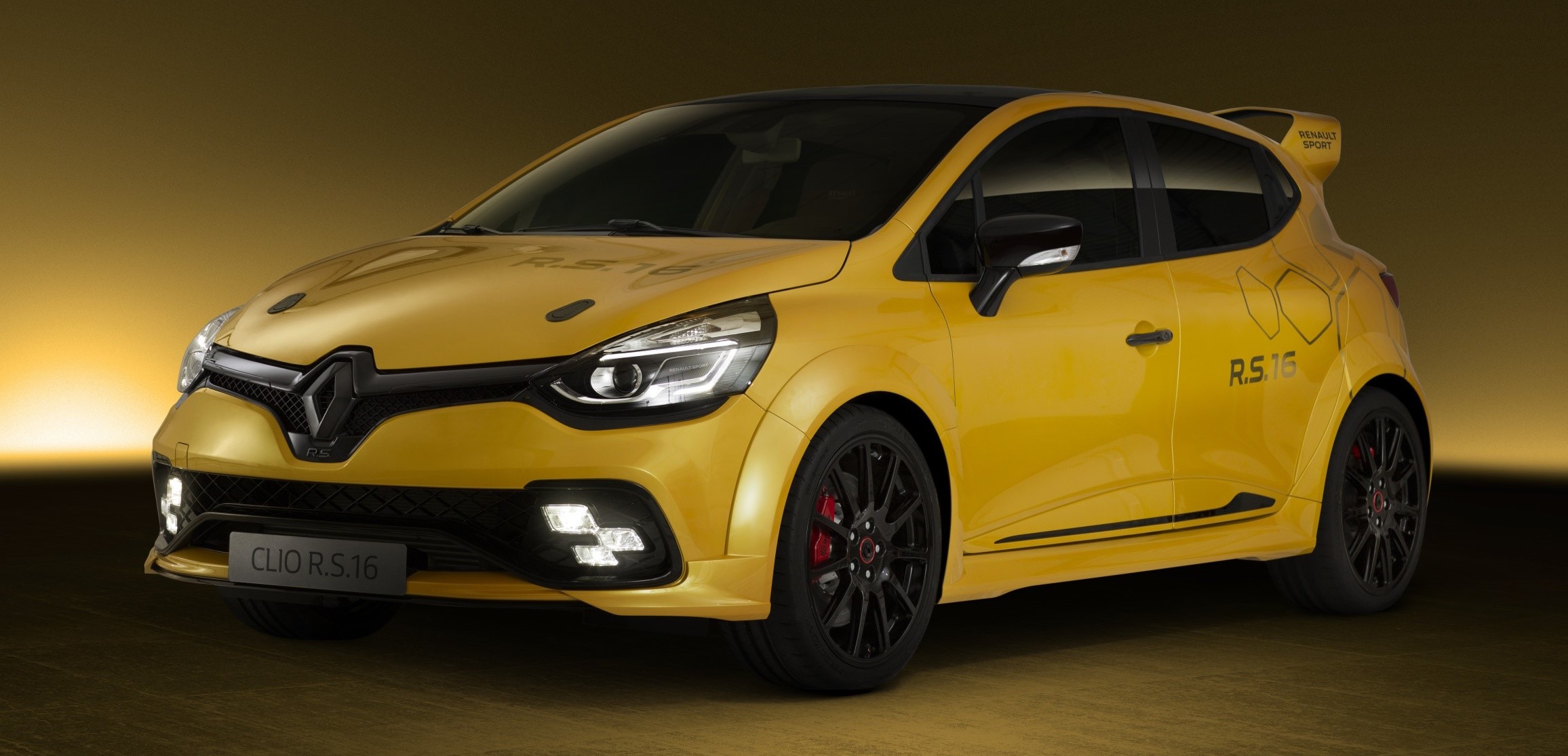 renault clio rs 16 275 hp 360 nm concept debuts. Black Bedroom Furniture Sets. Home Design Ideas