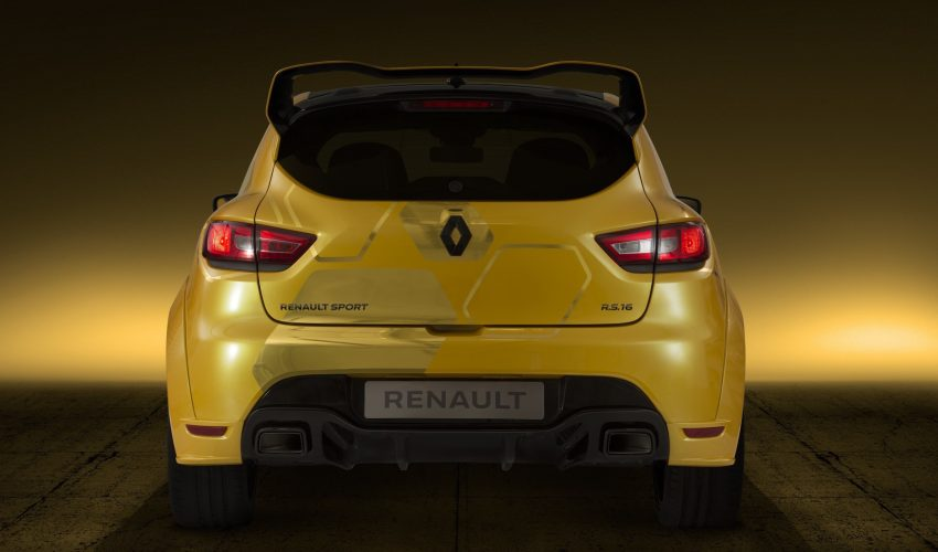 Renault Clio RS 16 – 275 hp, 360 Nm concept debuts Image #500004