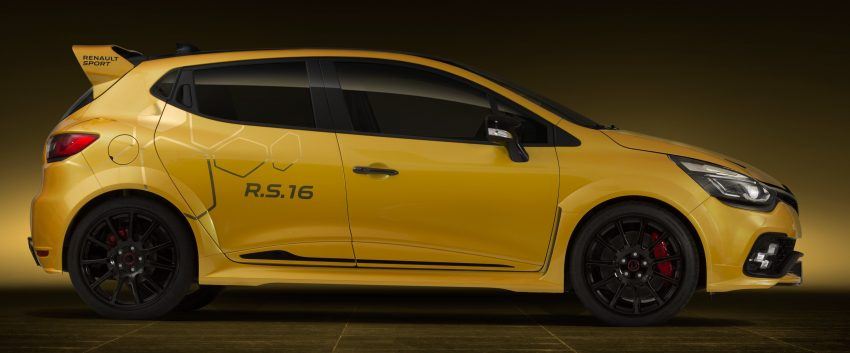 Renault Clio RS 16 – 275 hp, 360 Nm concept debuts Image #500006