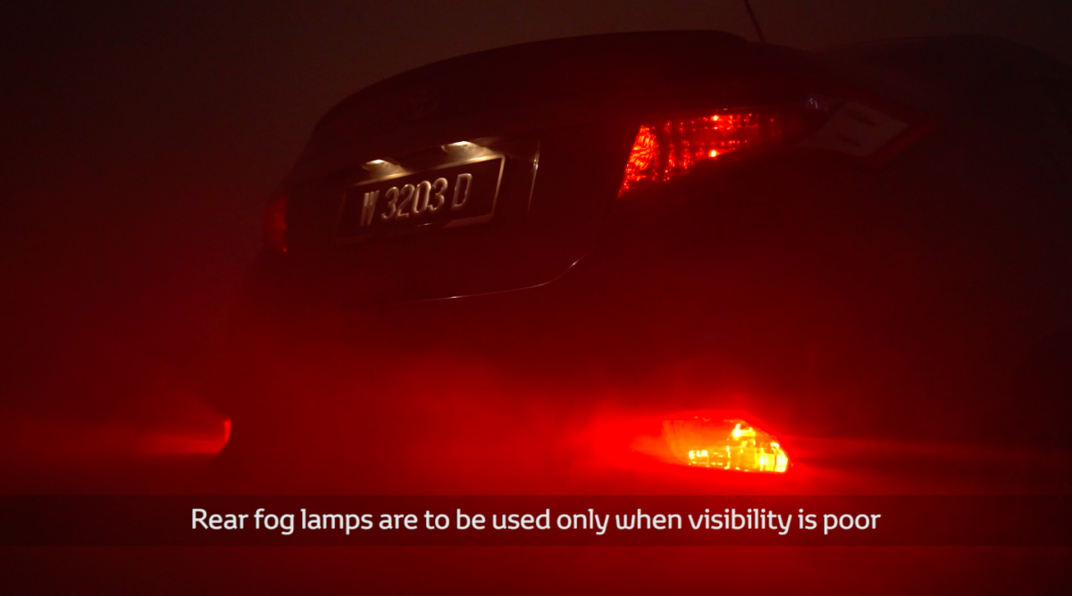 Video Rear Fog Lamps When Should They Be Used Saab 9 3 Lights Wiring Diagram