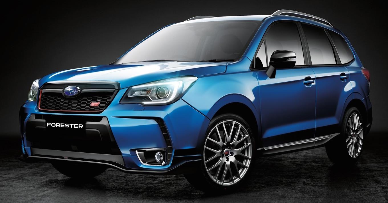 Subaru Forester tS – special STI edition for Australia ...