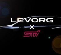 Subaru Levorg STI teaser vid