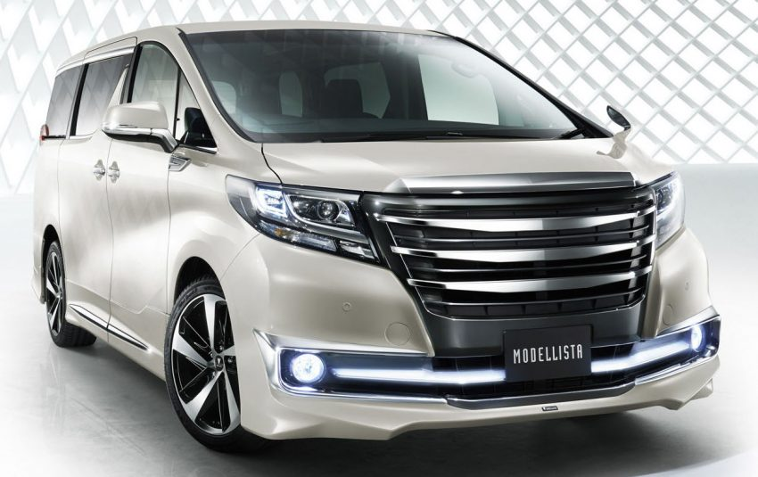 Toyota Alphard Modellista,已經夠帥的全新Alphard再加上豐田御用改裝配件!簡直帥爆了! - COCO01