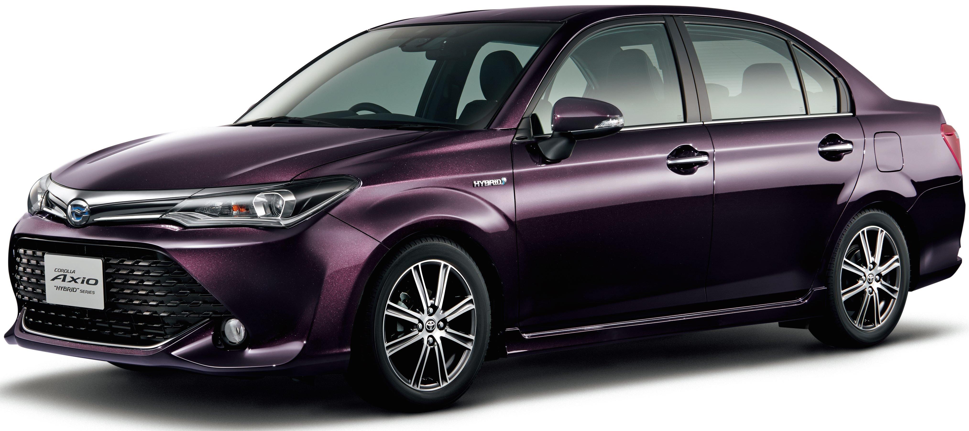 Toyota 4 Wheel Drive Models >> Toyota Corolla 50th anniversary models for Japan