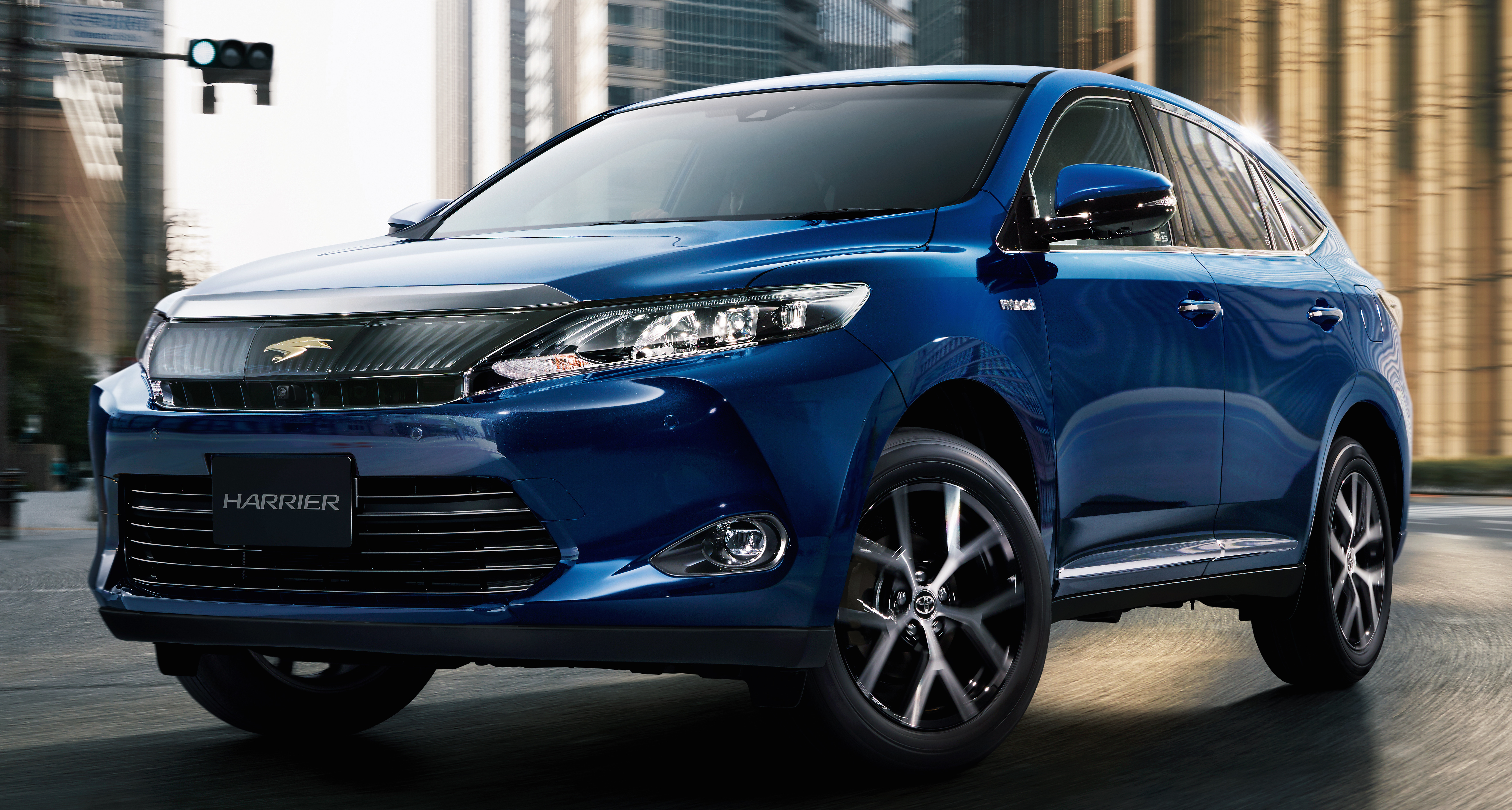 Toyota Harrier Premium Style Ash Editions For Japan