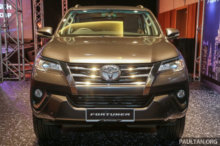 2016 Toyota Fortuner launched in Malaysia – two variants, 2.4L diesel and 2.7L petrol, RM187-200k Image #488763