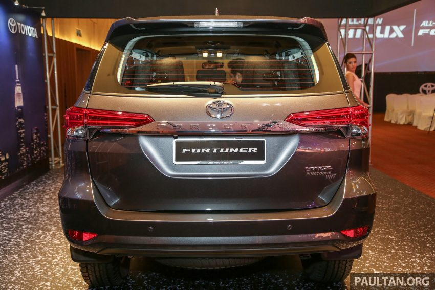 2016 Toyota Fortuner launched in Malaysia – two variants, 2.4L diesel and 2.7L petrol, RM187-200k Image #488782
