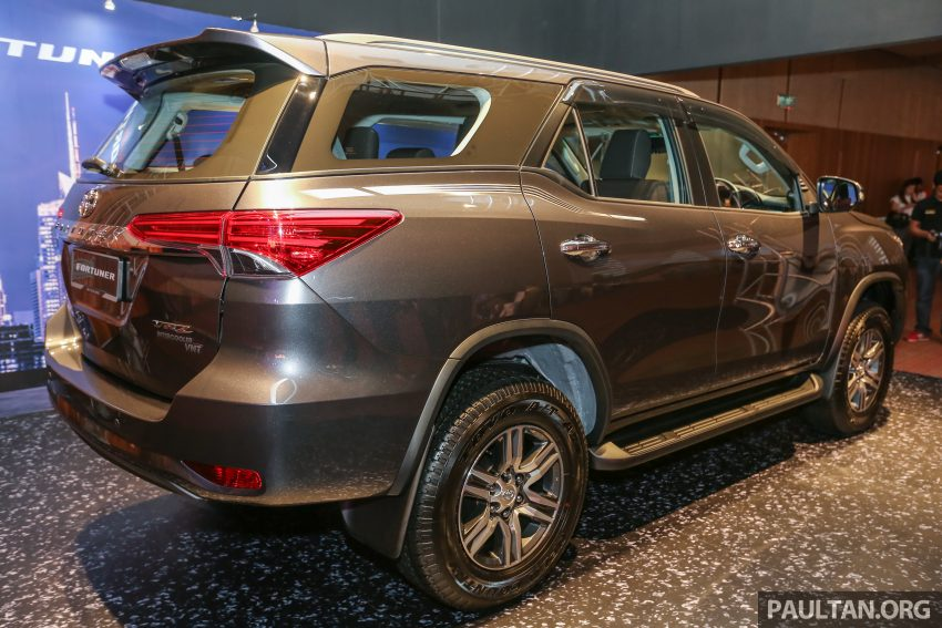 2016 Toyota Fortuner launched in Malaysia – two variants, 2.4L diesel and 2.7L petrol, RM187-200k Image #488785