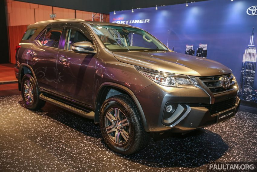 2016 Toyota Fortuner launched in Malaysia – two variants, 2.4L diesel and 2.7L petrol, RM187-200k Image #488764