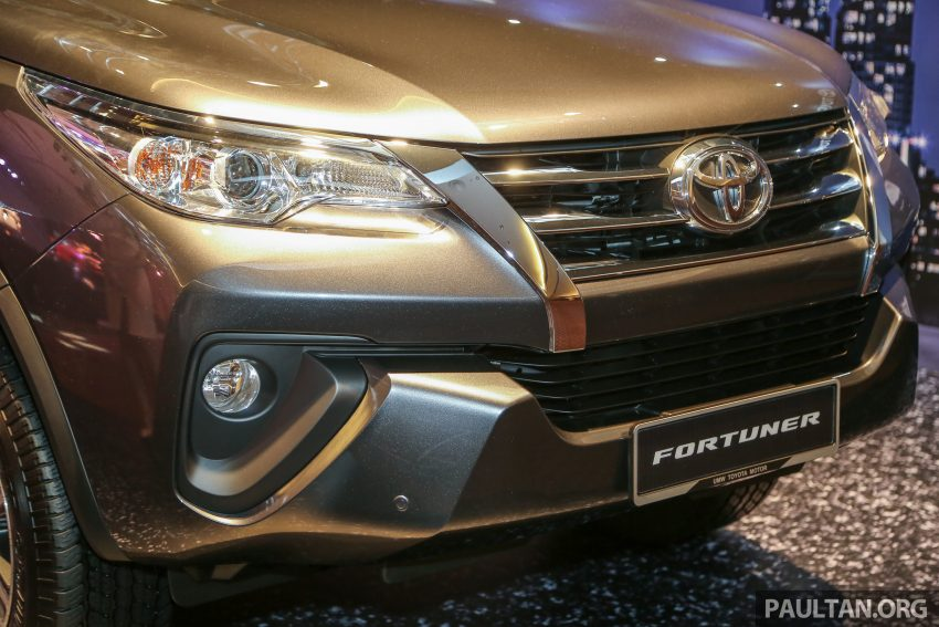 2016 Toyota Fortuner launched in Malaysia – two variants, 2.4L diesel and 2.7L petrol, RM187-200k Image #488765