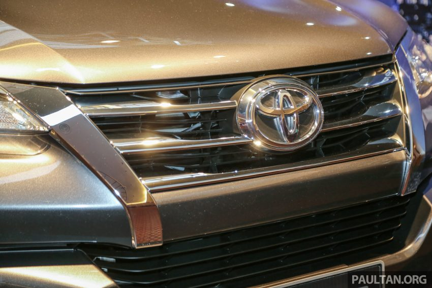 2016 Toyota Fortuner launched in Malaysia – two variants, 2.4L diesel and 2.7L petrol, RM187-200k Image #488767