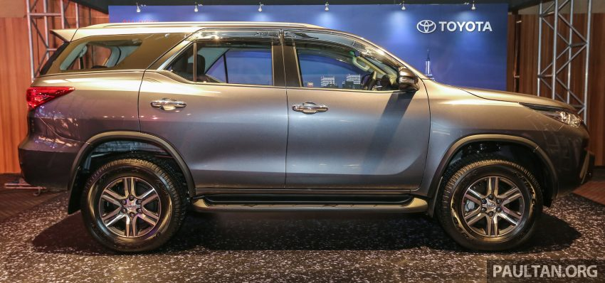 2016 Toyota Fortuner launched in Malaysia – two variants, 2.4L diesel and 2.7L petrol, RM187-200k Image #488770