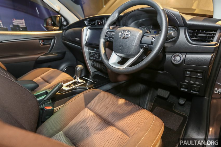 2016 Toyota Fortuner launched in Malaysia – two variants, 2.4L diesel and 2.7L petrol, RM187-200k Image #488807