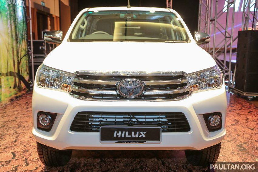 2016 Toyota Hilux makes its official debut in Malaysia – six variants, priced from RM90k to RM134k Image #488779