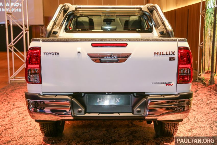 2016 Toyota Hilux makes its official debut in Malaysia – six variants, priced from RM90k to RM134k Image #488815