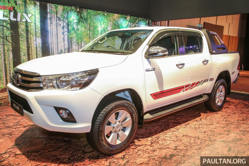 2016 Toyota Hilux makes its official debut in Malaysia – six variants, priced from RM90k to RM134k Image #488781