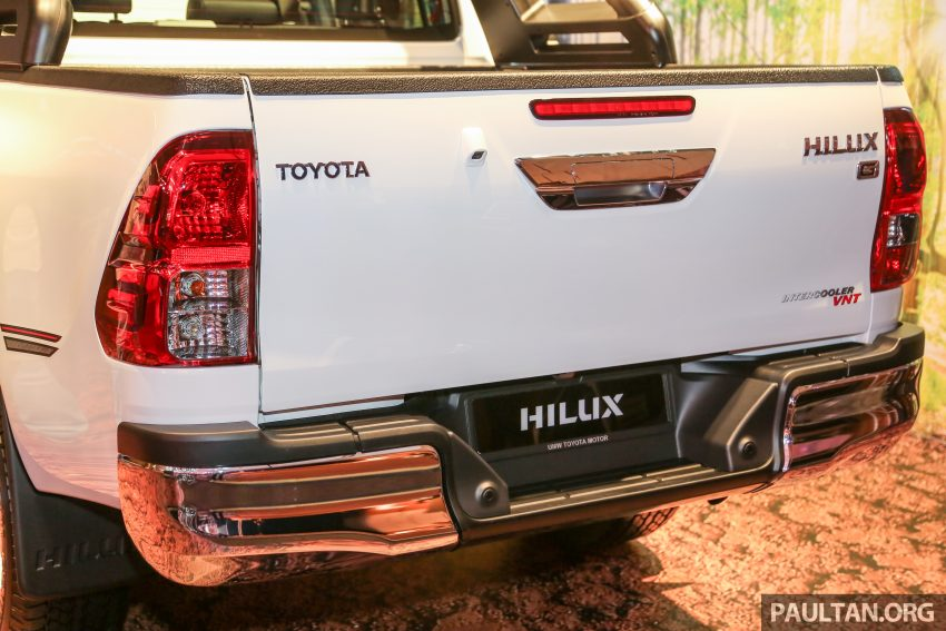 2016 Toyota Hilux makes its official debut in Malaysia – six variants, priced from RM90k to RM134k Image #488818