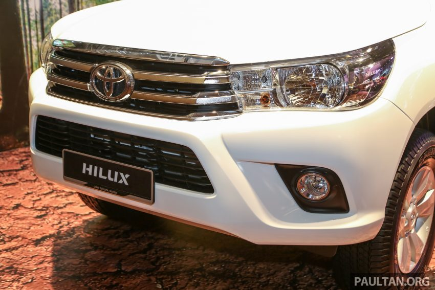 2016 Toyota Hilux makes its official debut in Malaysia – six variants, priced from RM90k to RM134k Image #488783