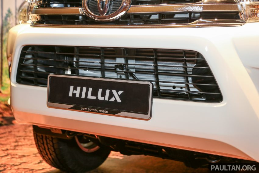 2016 Toyota Hilux makes its official debut in Malaysia – six variants, priced from RM90k to RM134k Image #488792