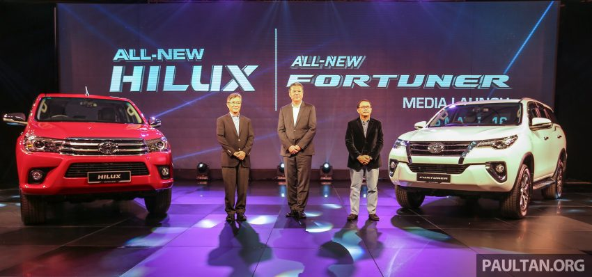 2016 Toyota Hilux makes its official debut in Malaysia – six variants, priced from RM90k to RM134k Image #488899