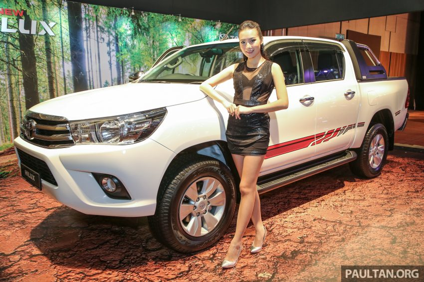 2016 Toyota Hilux makes its official debut in Malaysia – six variants, priced from RM90k to RM134k Image #488903