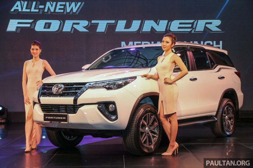2016 Toyota Fortuner launched in Malaysia – two variants, 2.4L diesel and 2.7L petrol, RM187-200k Image #488895