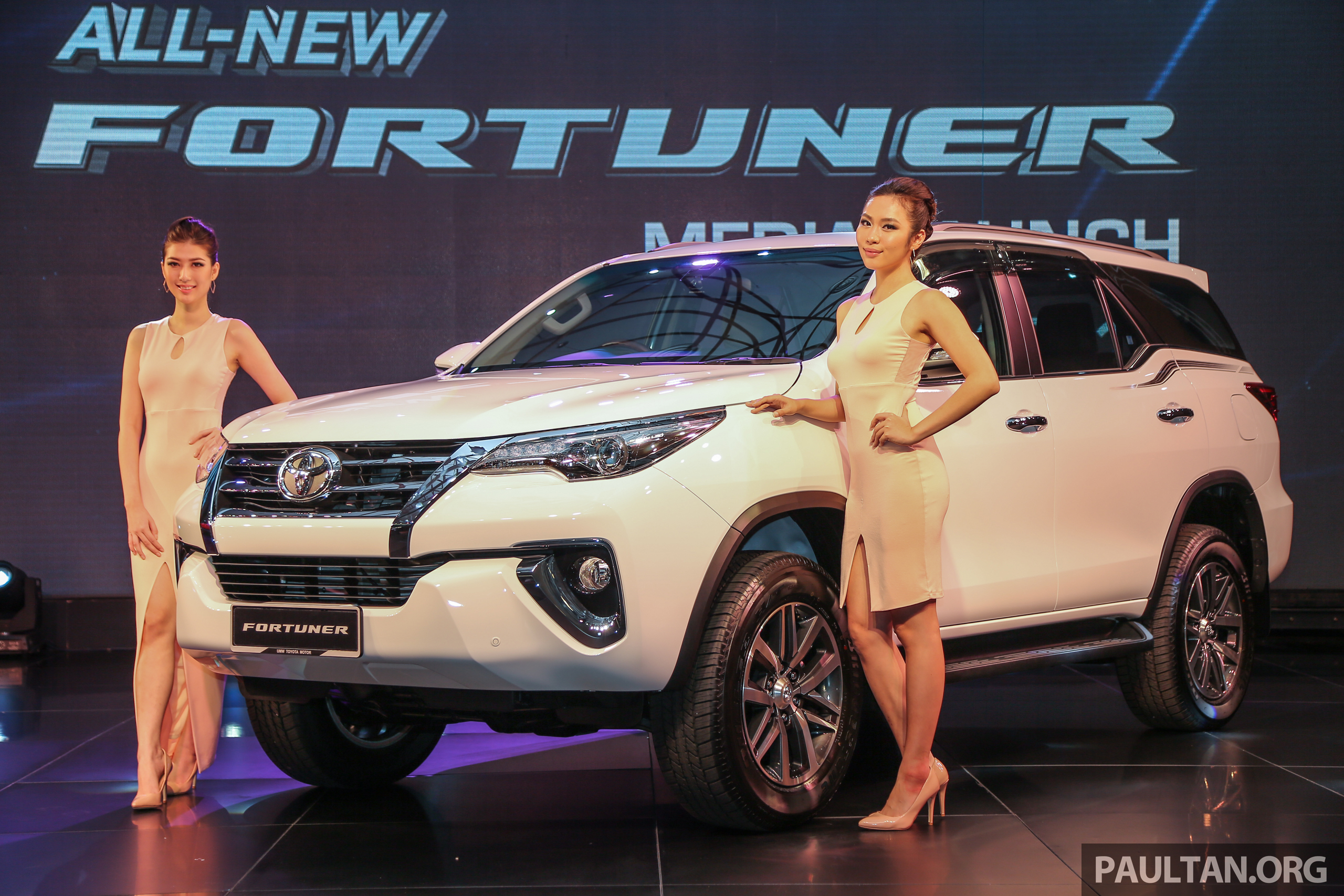 2016 Toyota Fortuner Launched In Malaysia Two Variants