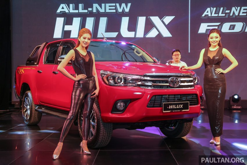 2016 Toyota Hilux makes its official debut in Malaysia – six variants, priced from RM90k to RM134k Image #488900