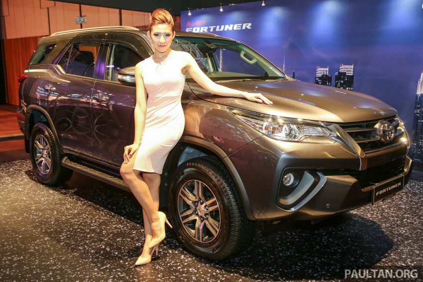 2016 Toyota Fortuner launched in Malaysia – two variants, 2.4L diesel and 2.7L petrol, RM187-200k Image #488898