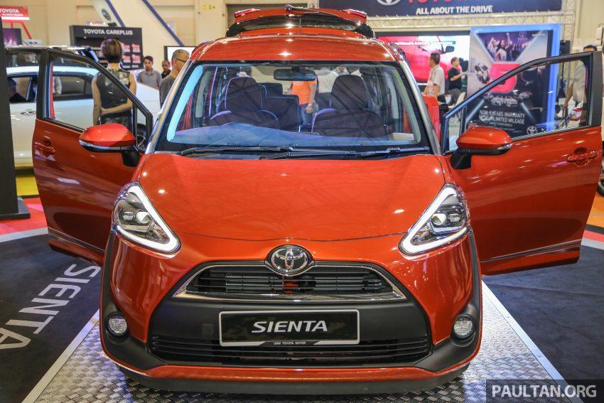 UMW Toyota prebiu Toyota Sienta di Malaysia Image #496381