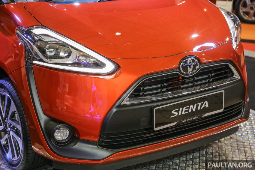 UMW Toyota prebiu Toyota Sienta di Malaysia Image #496357