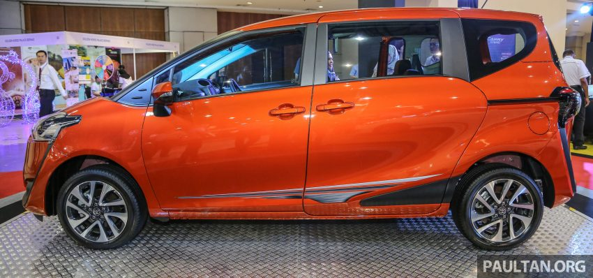 UMW Toyota prebiu Toyota Sienta di Malaysia Image #496336