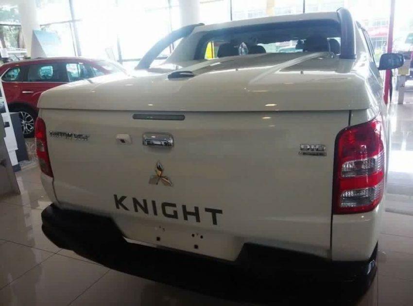 Mitsubishi Triton Knight – white ltd edition, RM122k Image #493697