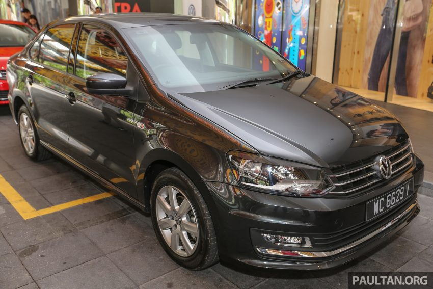 Volkswagen Vento launched – facelifted Polo Sedan, 1.2 TSI, DSG, ESP; RM80,646 to RM94,461 Image #495637