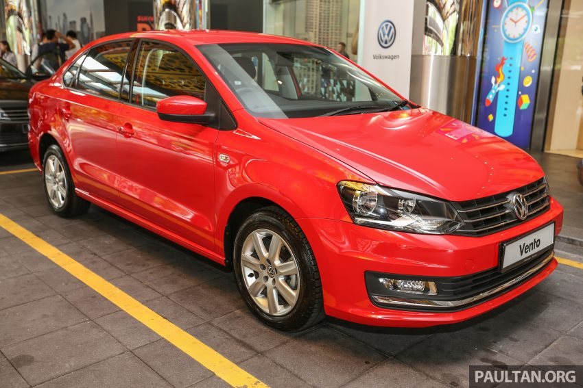 Volkswagen Vento launched – facelifted Polo Sedan, 1.2 TSI, DSG, ESP; RM80,646 to RM94,461 Image #495523