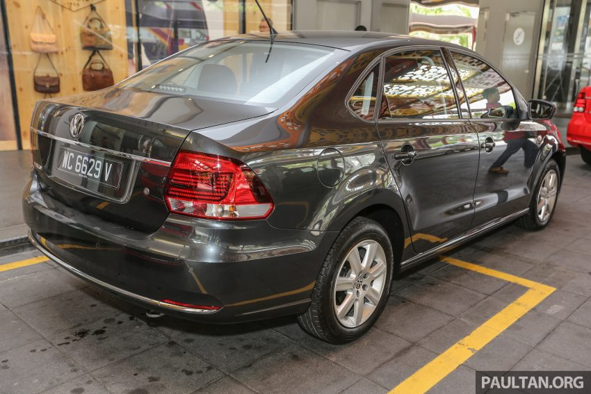 Volkswagen Vento Launched Facelifted Polo Sedan 1 2 Tsi
