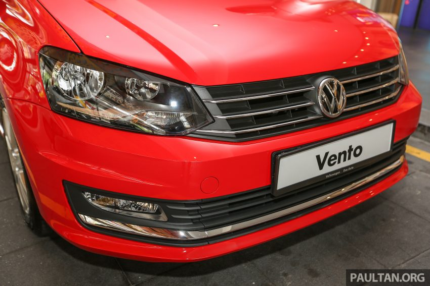 Volkswagen Vento launched – facelifted Polo Sedan, 1.2 TSI, DSG, ESP; RM80,646 to RM94,461 Image #495524