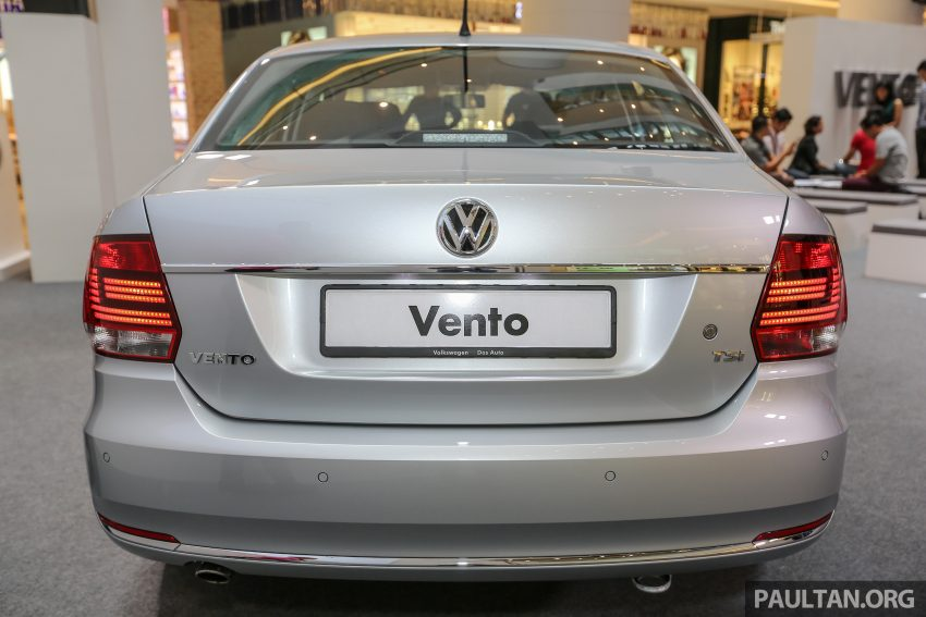 Volkswagen Vento launched – facelifted Polo Sedan, 1.2 TSI, DSG, ESP; RM80,646 to RM94,461 Image #495671