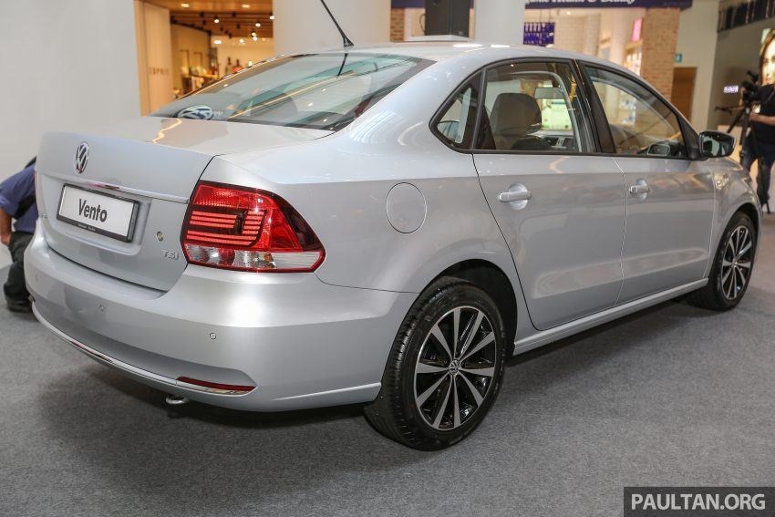 Volkswagen Vento launched – facelifted Polo Sedan, 1.2 TSI, DSG, ESP; RM80,646 to RM94,461 Image #495672