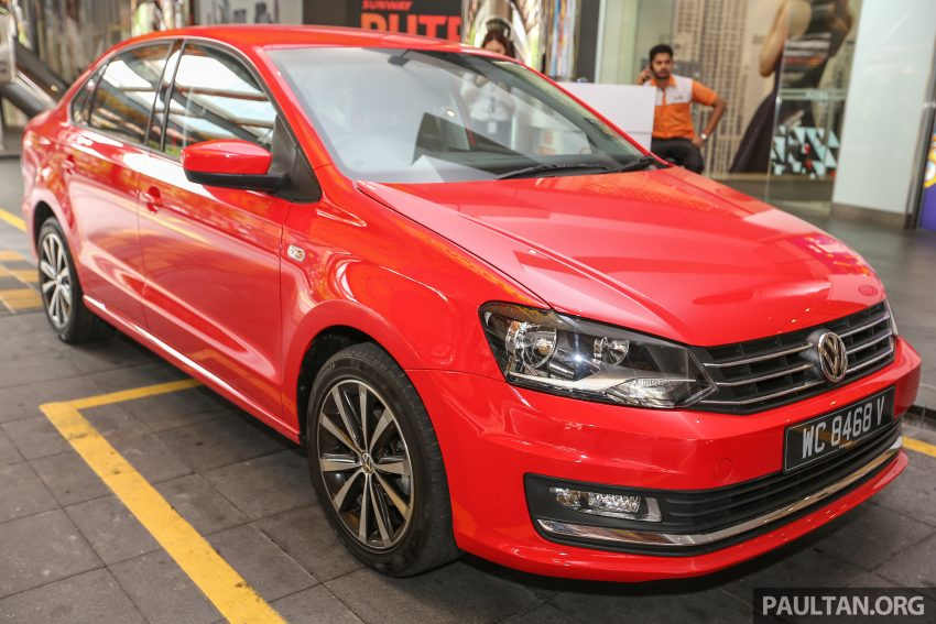 Volkswagen Vento launched – facelifted Polo Sedan, 1.2 TSI, DSG, ESP; RM80,646 to RM94,461 Image #495677