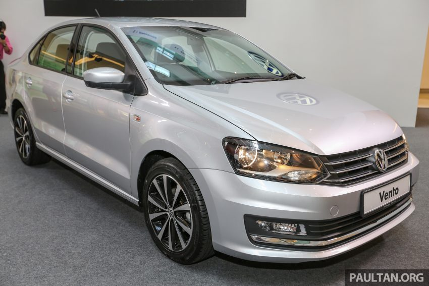 Volkswagen Vento launched – facelifted Polo Sedan, 1.2 TSI, DSG, ESP; RM80,646 to RM94,461 Image #495661